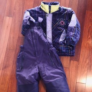 Kid snow suit - size 3